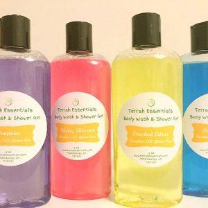 body wash & shower gel