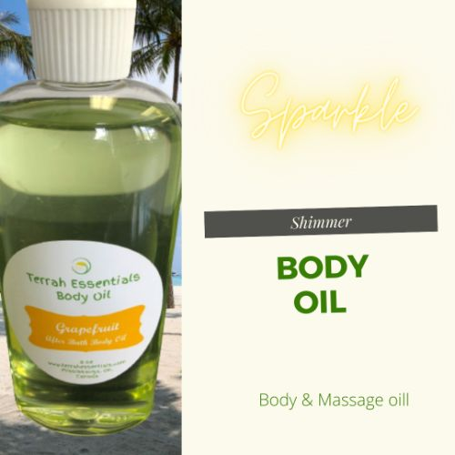 body & massage oil
