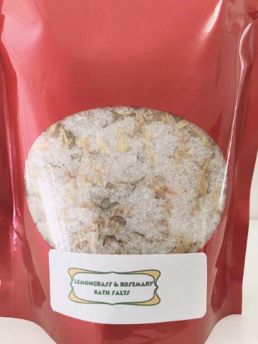 lemongrass bath salts