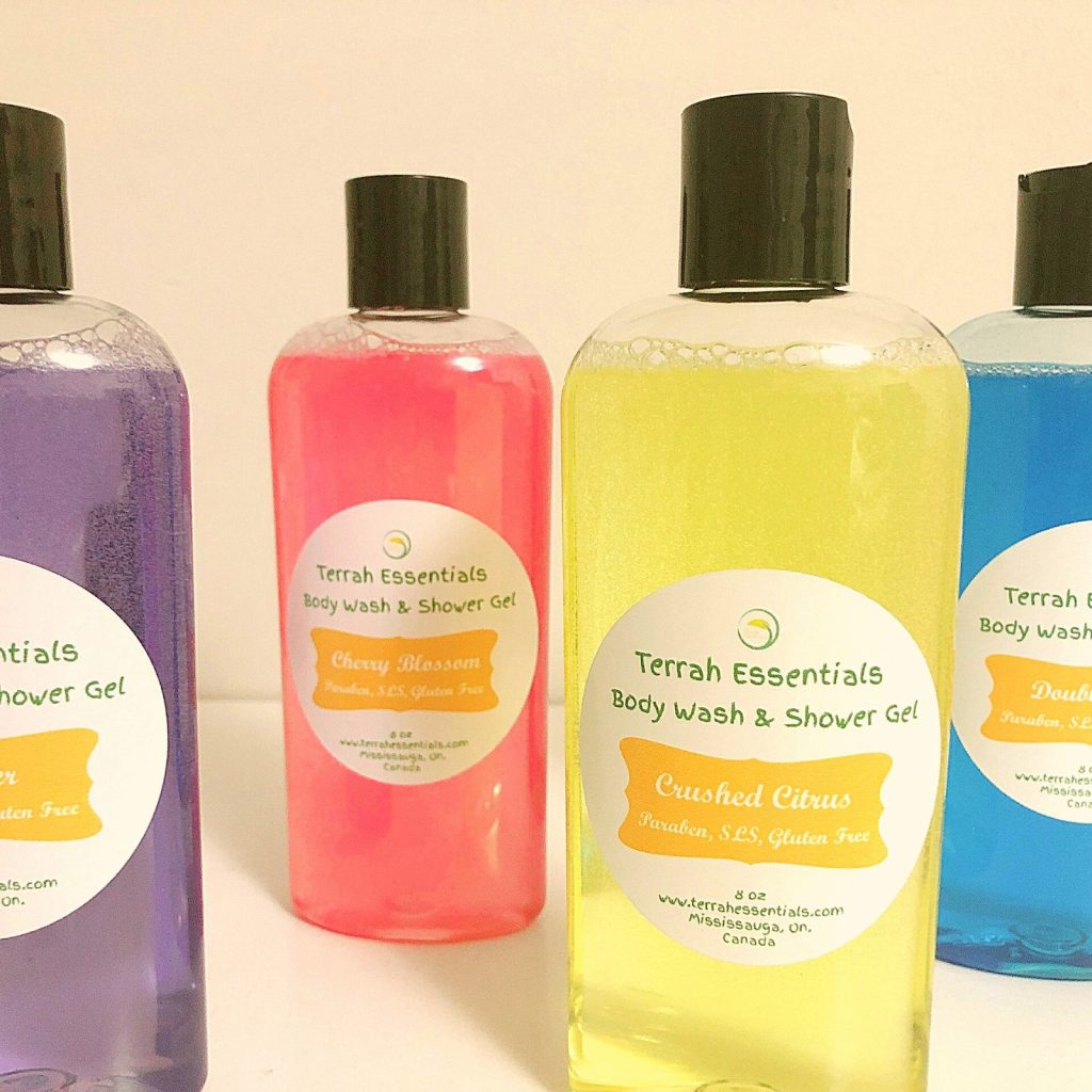 natural and organic bath and body products